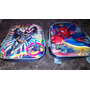 Mochilas Jardin 3 D Batman Spiderman Moviminent Metalizada