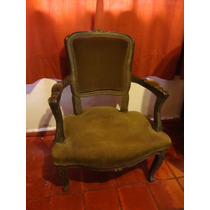 Antiguo Sillon Frances Luis Xv