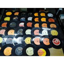 Lote 100 Discos Vinilo Simples P/decoracion Ultimos Oferta