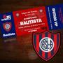 Tarjetitas De Invitación Fútbol / Cumpleaños / San Lorenzo