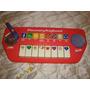 Piano Organo Musical Barbie Con Microfono