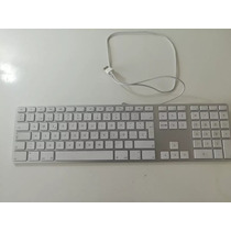Teclado Apple Alimunio Original, Exelente Estado