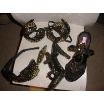 Traje Carnaval-corpiño-conchero-zapatos-lentejuelas-mercadop