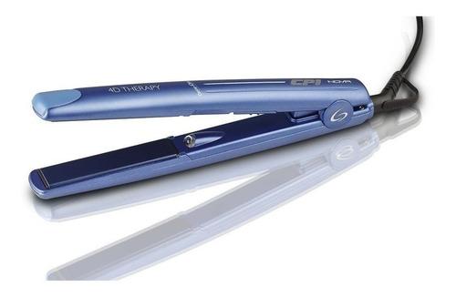 Planchita De Pelo Ga.ma Italy Cp1 Nova Azul Con Placas De Titanio 110v/220v