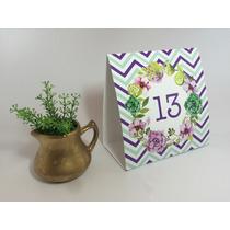Números Carteles Indicador De Mesa - Boda 15 Años Cumpleaños