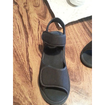Sandalias En Tela Negra N 39 Como Nuevas...