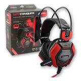 Auriculares Gamer Noga Conquer Headset Pc Con Microfono