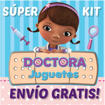Super Kit Imprimible Doctora Juguetes. Invitaciones, Cumple!