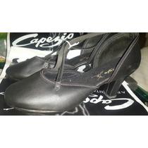 Capezio Zapatos Suela Cromo Para Tango O Bailes De Salón