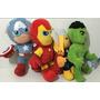 Peluche Avengers 35cm Iron Man Capitan Thor Hulk Tuni 2667