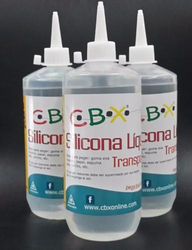 f46d8a65fda Silicona Liquida 6 X 500cc (3l) Cbx Pegamento Adhesivo -   1149 en ...