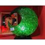 Lámpara Medialuna De Venecitas Verde