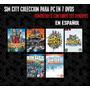 Sim City Coleccion En Español Para Windows (7 Dvds)