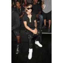 Babucha Chup Brillosa Simil Cuero/ Swag/ Stylo Justin Bieber