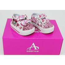 Zapatillas Addnice Minnie C/luzabrojos / Originales Deporfan