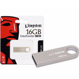 Pendrive 16gb Kingston Dt Se9 Metalic Original Hay Stock ¡¡