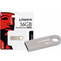 Pendrive 16gb Kingston Dt Se9 Metalic Original Hay Stock ¡¡