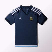 Camiseta Titular Niños Suplente Argentina 2015 Deporfan