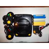 Consola Family Game Micro Genius  Con 2 Joistick Y 6 Juegos