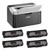 Impresora Laser Brother 1212 Hl-1212w Wifi + 4 Toner Extra