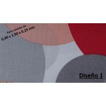 Juego De Sabanas 1 1/2 Plazas Lousiana 0,90 X 1,90 X 0,25 Mt