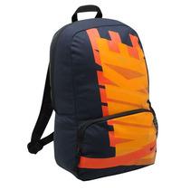 Mochila Nike Modelo Turf Color Azul/naranja