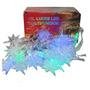Luz Led Estrella 28 Luces Multicolor Led Navidad Mira Video