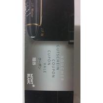 Montblac Boligrafo Platinum Line Mod. P164 +voucher Grabado