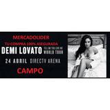 Entradas Demi Lovato Campo Mercadolider Compra 100% Seguro