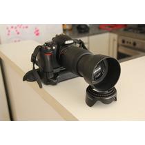 Nikon D3100 + Grip + 55-200 + 18-55 Como Nueva!!!