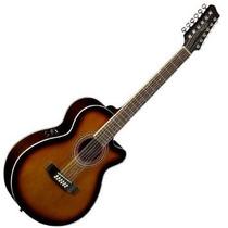 Guitarra Electroacustica Stagg Sa40mjcfi/12bs 12 Cuerdas