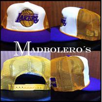 Gorra Trucker Lakers