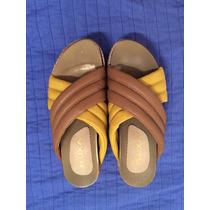 Zapatos Cruzados Talle 38 Tres Posturas Suela Corcho Liviano