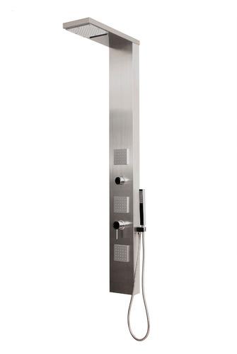 Columna de ducha hidromasaje escocesa acero inoxidable for Columnas de ducha precios