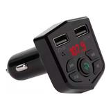 Transmisor Receptor Bluetooth Fm Usb Sd Cargador Manos Libre