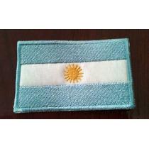 Bandera Bordada Argentina - Bomberos -