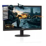 Monitor Philips 22 Pulgadas 223v5lhsb2/55 Gamer Led Hdmi Vga