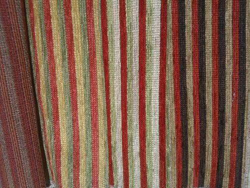 Tela chenille rayas tapiceria cortina almohadon funda rollos de tela a ars 248 en preciolandia - Telas para tapiceria precios ...