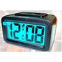 Despertador Luminoso Nocturno Digital A Bateria Muy Bueno