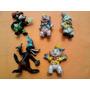 5 Figuras Goma Kfs 3 Chanchitos Licencia De Walt Disney