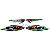 Calcos Honda Cg 125 Es Titan