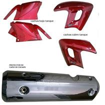 Cachas Cubre Tanque,bajo Tque Y Protector Escape Altino 150r