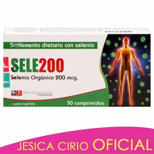 Sele200 Selenio Organico Antioxidante Jesica Cirio Fitness