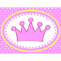 Kit Imprimible Baby Shower Corona Nena - Promo 3x1