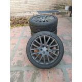 4 Llantas 17x5 Rex Originales Bora Con Cubiertas Bridgestone