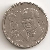 Mexico, 50 Pesos, 1986. Juarez. Vf