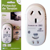 Protector Tension Tv Smart Electrodomestico Led Corte De Luz