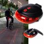 Luz Led Y Laser Trasera Para Bicicletas Caseros