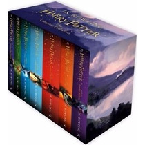 Harry Potter Box Set X 7 Books Editorial Bloomsbury