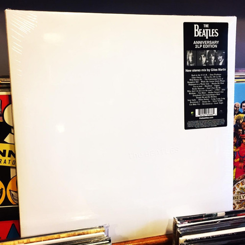 The Beatles White Album Vinilo Doble 2 Lp Stereo Stock 2018
